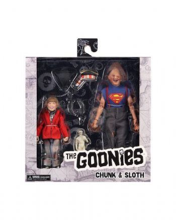 NECA The Goonies Sloth and Chunk Action Figure 2 Pack - Instock